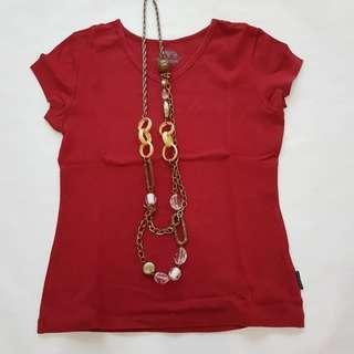 Fiorucci Red Top #CNY888 #CNYRED