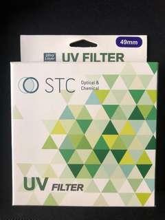 STC防髒防塵抗UV鏡頭保護鏡/9H49mm