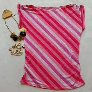 🆕️ Pink Stripes Top #CNY888 #CNYRED