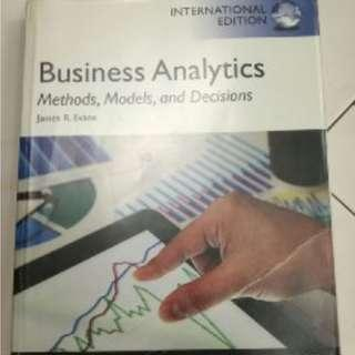 🚚 Business Analytics: Methods, Models, and Decisions