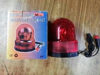 Warning light(red)