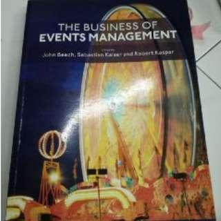 🚚 The Business of Events Management