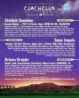 Coachella 2019 ticket (weekend 2) x2