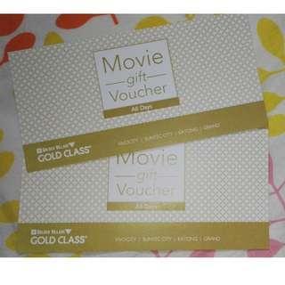 Golden Village Gold Class 2 Tickets/Gift Vouchers