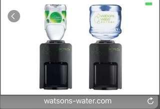 屈臣氏蒸餾水Wats-MiniS溫熱水機