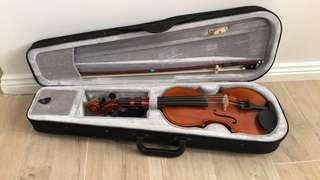 ½ Violin with extras