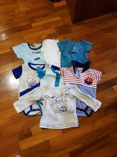 Baby clothes (newborn-9 mths)  #springcleanandcarousell