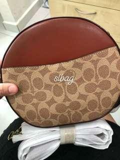 Coach round bag