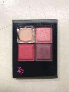 🚚 ZA RD47 四色眼影盤 9.5成新