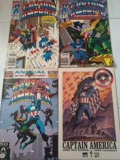 Captain America Bundle (Marvel Comics)
