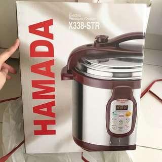 HAMADA Electric Pressure Cooker X338-STR