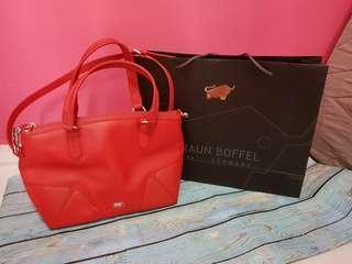 💯Authentic Braun Buffel Bag (🔴Red)