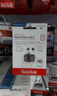 Brand new SanDisk Dual Drive m3.0 16Gb selling at $7.90