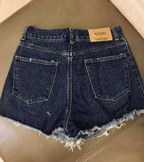 Moussy denim short