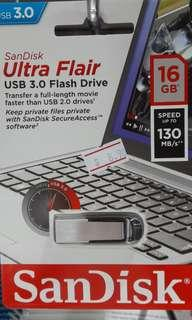 Brand new SanDisk Ultra Flair 16GB selling at $8.90