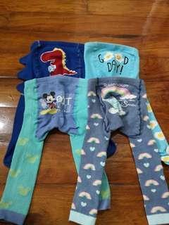 4pcs baby pants