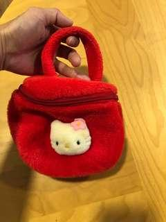 AUTHENTIC HELLO KITTY MINI BAG FOR 2 to 3 years old