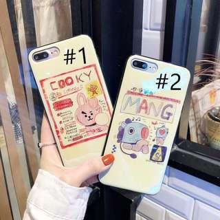 Iphone 6 Cooky BT21 IMD Case