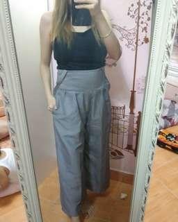 Celana kulot / grey cullotes pants / celana wanita / import pant