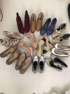 Heels Bundle Sales...!!. 12 pairs. $100. Grab..!!