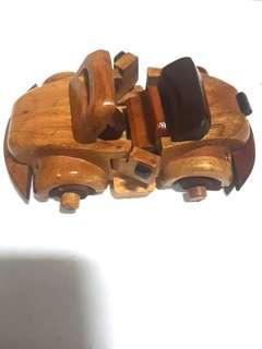 Wooden Car Display