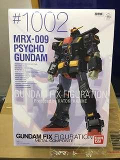 日版99%新 Gundam fix #1002 #1010 重高達 重高達MKII