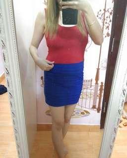 Bodycon dress import / dress korea / terusan wanita / casual dress