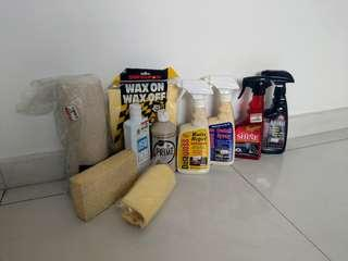 Clearing Car Detailing Products