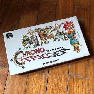 Nintendo Super Famicom Family Computer Square-Enix Square Soft Japanese Chrono Trigger RPG SNES Retro Gaming Game