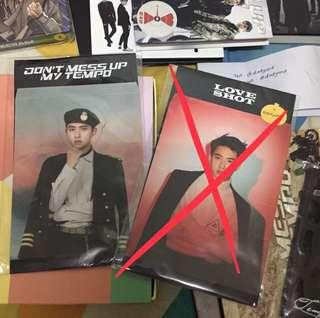 [WTS] EXO LOVE SHOT STANDEE + DMUMT STANDEE