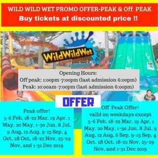 🚚 WILD WILD WET TICKETS