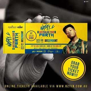South African Nasty C concert