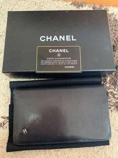 AUTHENTIC vintage CHANEL long wallet