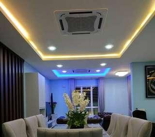 Ceilings and Lightings