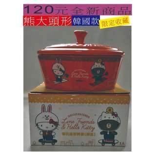 120元~ 全新 熊大頭型 ~ 韓國款 下標前請先詢問有無貨,因有多個平台銷售