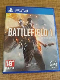 PS4 Battlefield 1 戰地風雲1