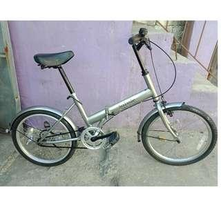 SOLEDE FOLDING BIKE (FREE DELIVERY AND NEGOTIABLE!)