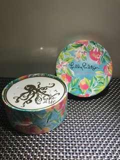 American Brand Ceramic Coasters Set