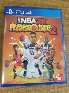 PS4 NBA2K Playgrounds 2