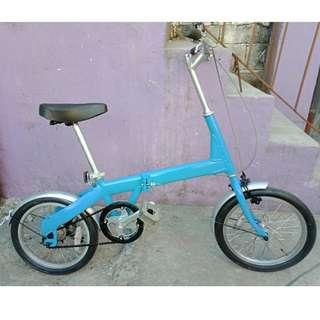 JAPAN ALLOY FOLDING BIKE (FREE DELIVERY AND NEGOTIABLE!)