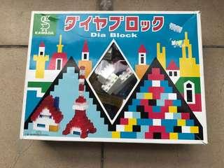 Dia Block made in Japan (not Lego)