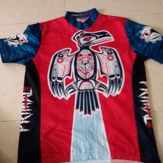 Vintage primal wear cycling jersey size M(Thunderbird)