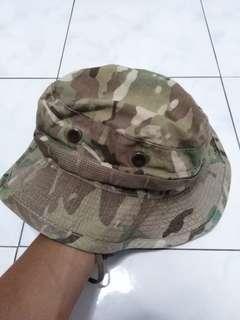 Military camo sun hat