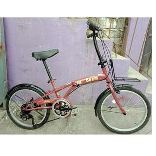 BEEM FOLDING BIKE (FREE DELIVERY AND NEGOTIABLE!)
