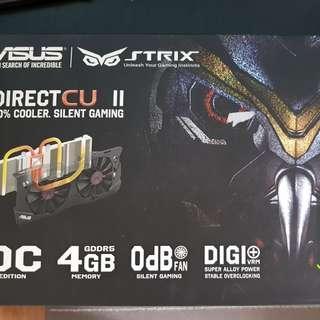 WTS Asus Strix GTX970 OC edition - Dual fan 4GB VRAM