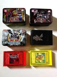 Yugioh card + tin case