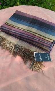 🚚 蘇格蘭百百CASHMERE格紋圍巾