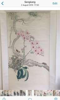 Orchid. 胡姫花!Lee Hock Moh 画家 李福茂!Good investment!