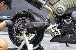 Bike Fireball Premium Snow Wash
