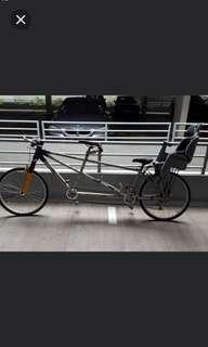 2 seater bicycle